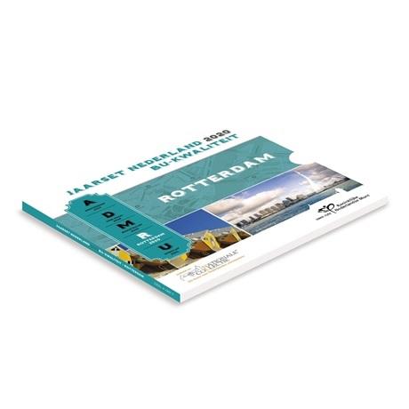 (EUR14.CofBU&FDC.2020.Cof-BU) Coffret BU Pays-Bas 2020 (Rotterdam)