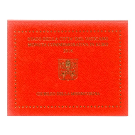(EUR19.ComBU&BE.2016.200.BU.COM2) 2 euro Vatican 2016 - Jubilé de la Miséricorde Recto