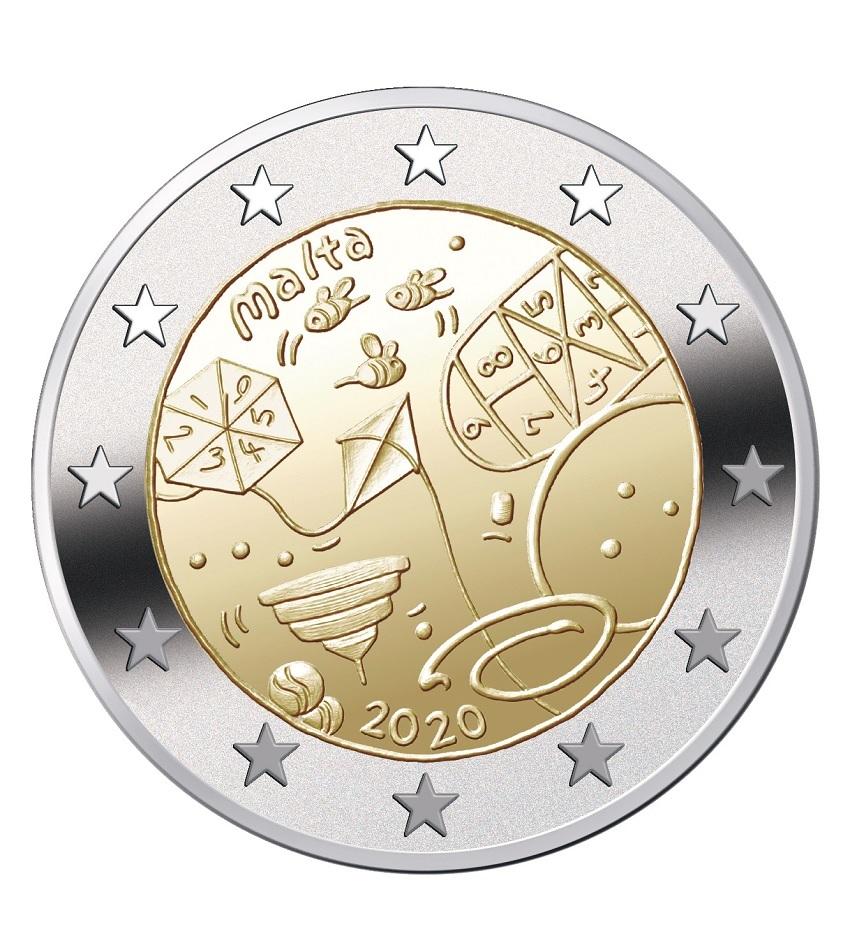 2 euro Malta 2020 - Games (zoom)