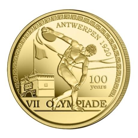 (EUR02.ComBU&BE.2020.250.BU.COM1) 2,5 euro Belgique 2020 BU - Jeux Olympiques Anvers Revers