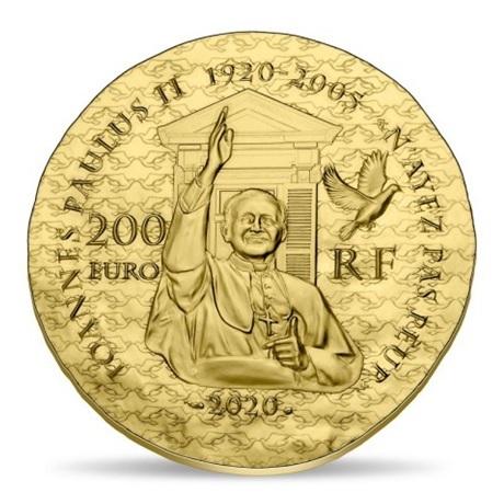 (EUR07.ComBU&BE.2020.20000.BE.10041344150000) 200 euro France 2020 or BE - Soeur Emmanuelle Revers