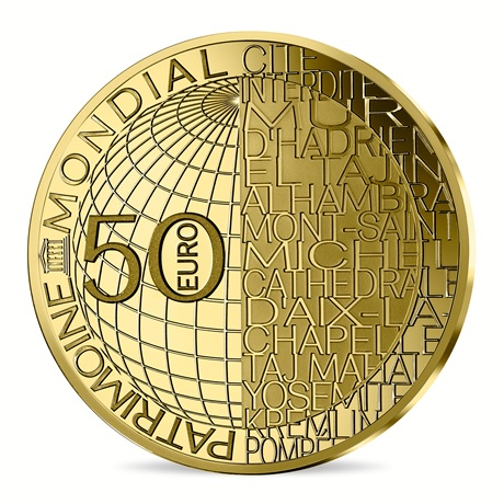 (EUR07.ComBU&BE.2020.10041344130000) 50 euro France 2020 Au BE - Olympie Revers