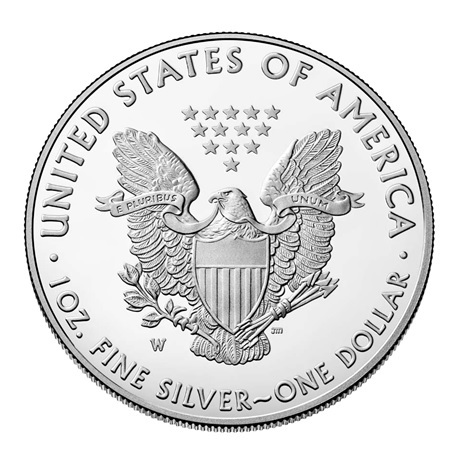 (W071.100.2020_W.1.ag.BE.bullco.1) 1 Dollar Etats-Unis 2020 W 1 once Ag BE - Aigle américain Revers