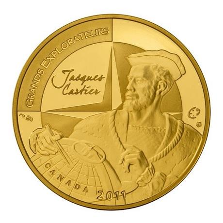 (EUR07.ComBU&BE.2011.10041268880000) 50 euro France 2011 Au BE - Jacques Cartier Avers