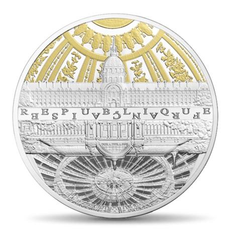 (EUR07.ComBU&BE.2015.10041295190000) 50 euro France 2015 Ag BE - Invalides et Grand Palais Avers