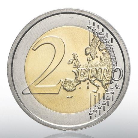 (EUR19.ComBU&BE.2020.CN1539) 2 euro commémorative Vatican 2020 BU - Jean-Paul II Revers
