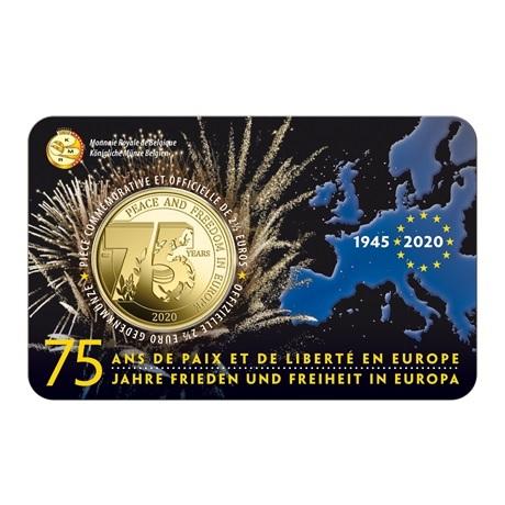 (EUR02.ComBU&BE.2020.250.BU.COM1) 2,5 euro Belgique 2020 BU - Paix - Légende française Recto