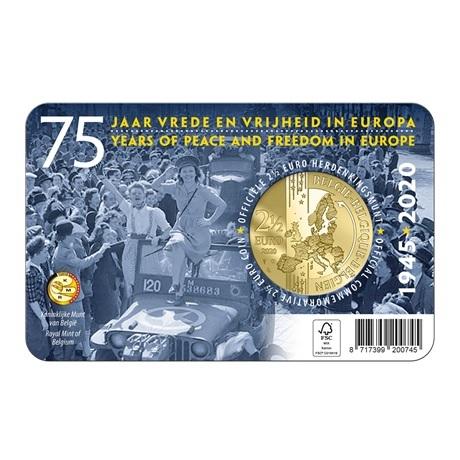 (EUR02.ComBU&BE.2020.250.BU.COM1) 2,5 euro Belgique 2020 BU - Paix - Légende française Verso