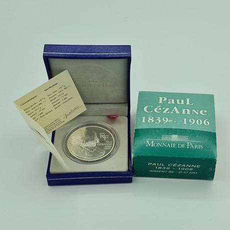 (EUR07.ComBU&BE.2006.10041239970000) 1,50 euro France 2006 argent BE – Paul Cézanne Avers