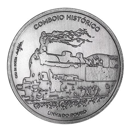 (EUR15.750.2020.12500530) 7,5 euro Portugal 2020 - Trains historiques Revers