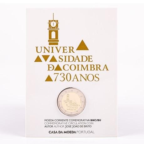 (EUR15.ComBU&BE.2020.1024125) 2 euro Portugal 2020 BU - Université de Coimbra (packaging)