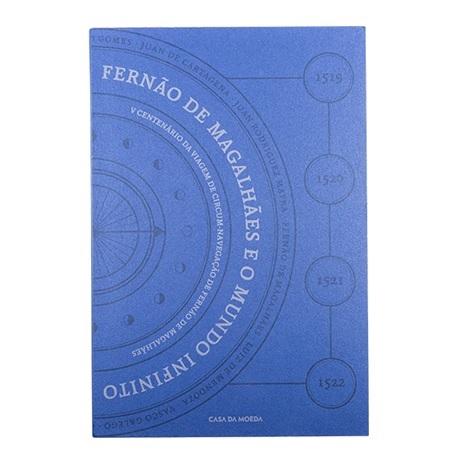 (MAT.INCM.Alb&feu.Alb.7002992) Album collector Monnaie du Portugal - Magellan Recto