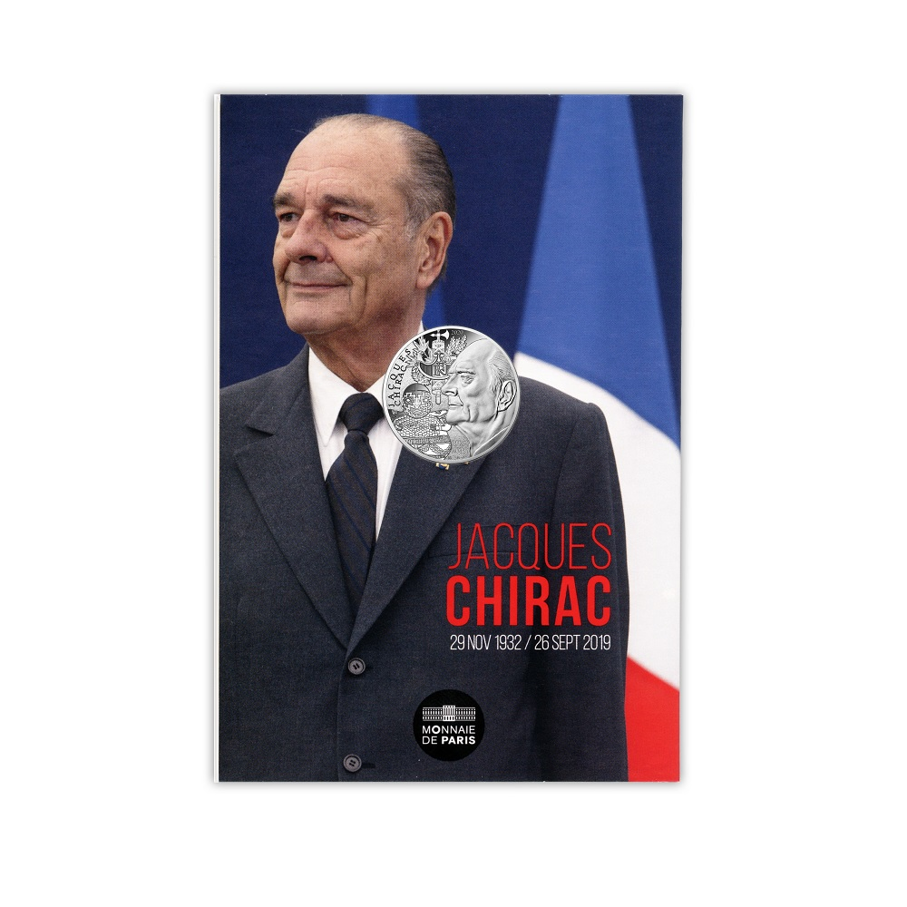 (EUR07.1000.2020.10041349410005) 10 euro France 2020 silver - Jacques Chirac Front (zoom)