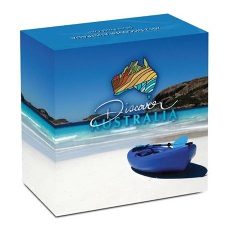 (W017.1.D.2012.1218DBAA) 1 Dollar Australie 2012 1 oz Ag BE - Goanna (boîte)