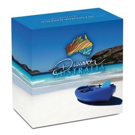 (W017.1.D.2012.1218DAAA) 1 Dollar Australie 2012 1 oz Ag BE - Rainette verte et dorée (boîte)