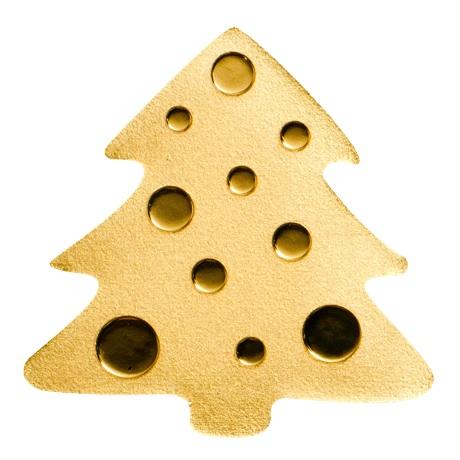 (W168.1.1.D.n.d._2020_.26986) 1 Dollar Sapin de Noël 2020 - Or BU Revers
