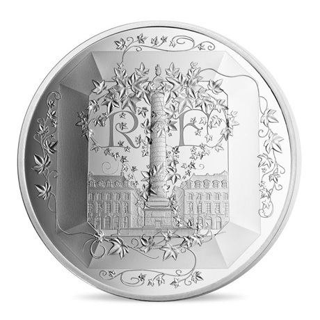 (EUR07.ComBU&BE.2018.10041318090000) 50 euro France 2018 argent BE - Boucheron Avers