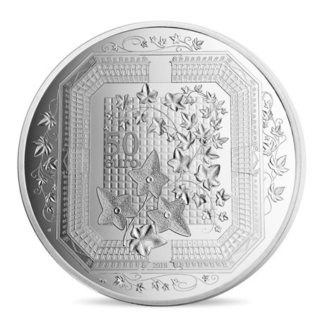 (EUR07.ComBU&BE.2018.10041318090000) 50 euro France 2018 argent BE - Boucheron Revers