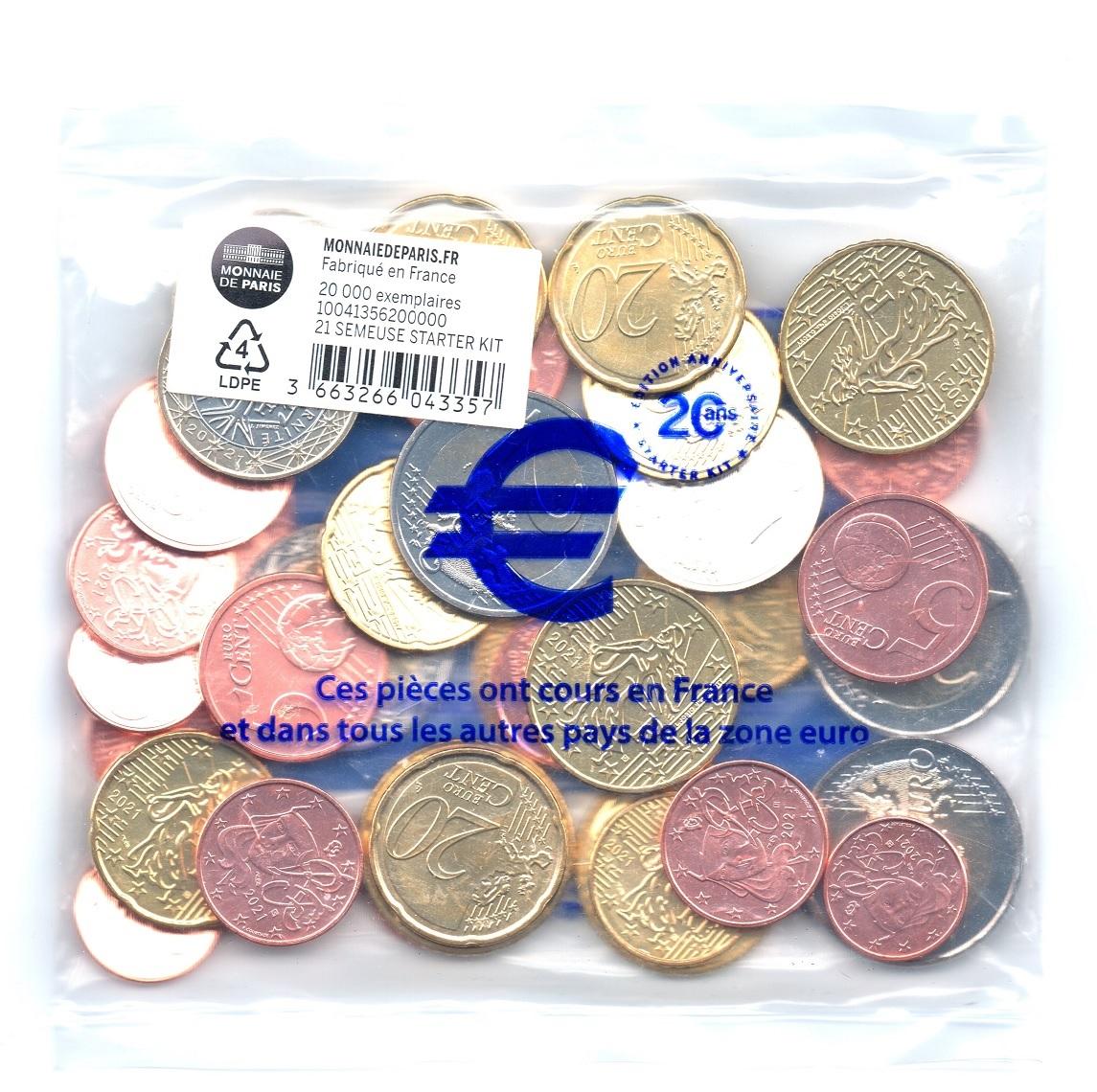 (EUR07.SK.2021.10041356200000) Starter-kit (reissue) France 2021 (back view) (zoom)