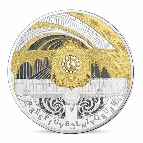 (EUR07.ComBU&BE.2016.10041299770000) 50 euro France 2016 argent BE - Musée Orsay et Petit Palais Avers