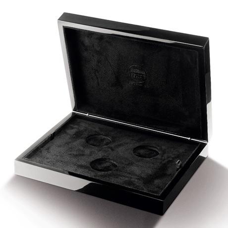 (MATMDP.Cof.10081312250000) Coffret pour 3 pièces Monnaie de Paris (premium) (ouvert)