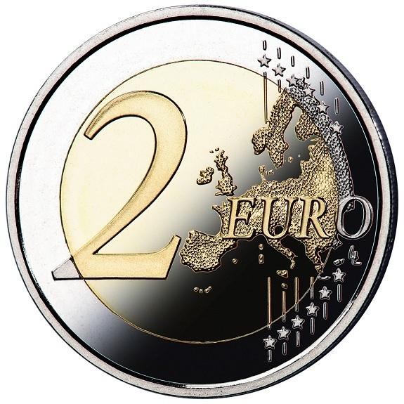 2 euro Spain 2021 Proof - Puerta del Sol, in Toledo Reverse (zoom)