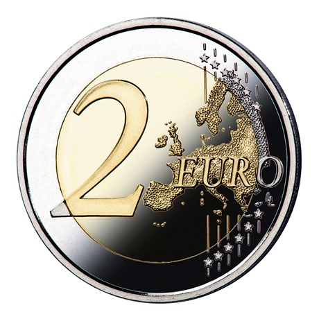 2 euro commémorative Espagne 2021 BE - Puerta del Sol de Tolède Revers