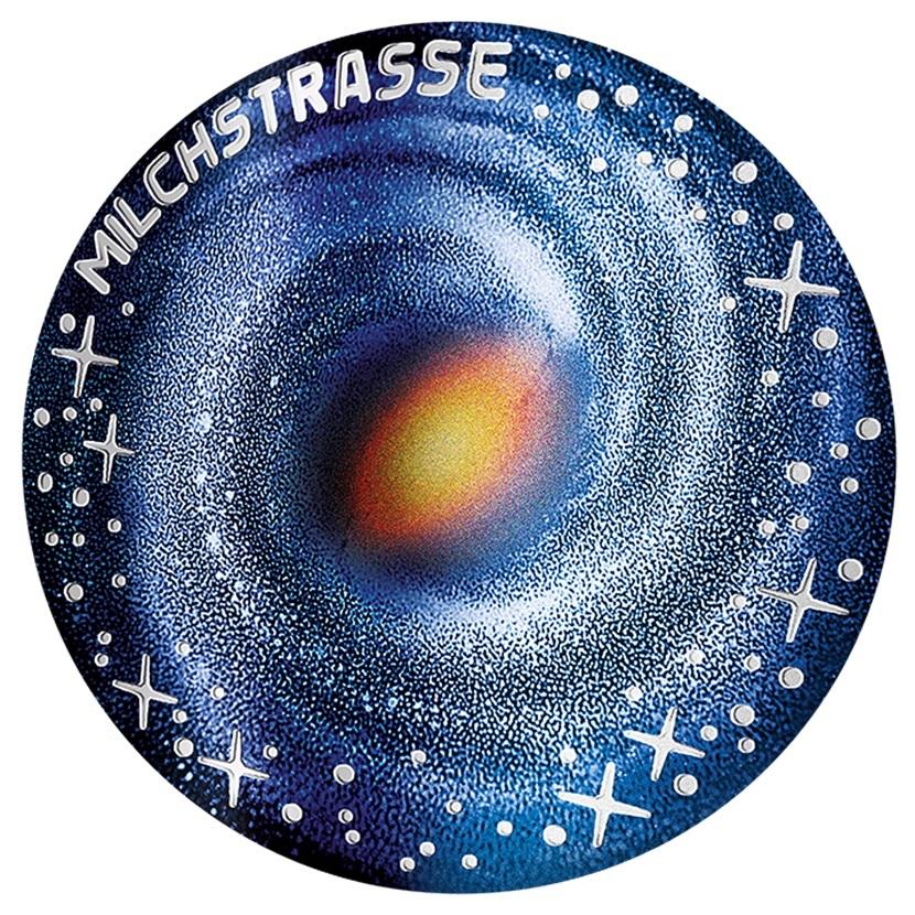 (EUR01.ComBU&BE.2021.25145) 20 € Austria 2021 Proof silver - Milky Way Reverse (zoom)
