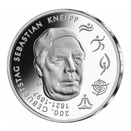 (EUR03.Proof.2021.910105sg) 20 euro Allemagne 2021 G argent BE - Sébastien Kneipp Revers