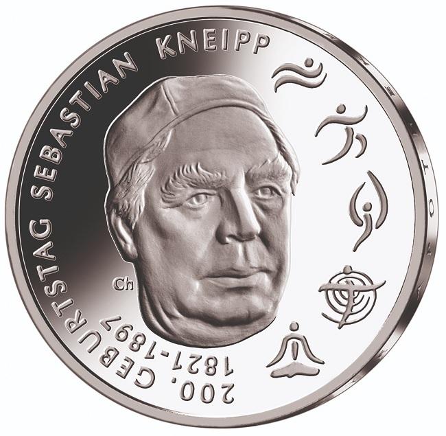 (EUR03.Proof.2021.910105sg) 20 euro Germany 2021 G Proof silver - Sebastian Kneipp Reverse (zoom)