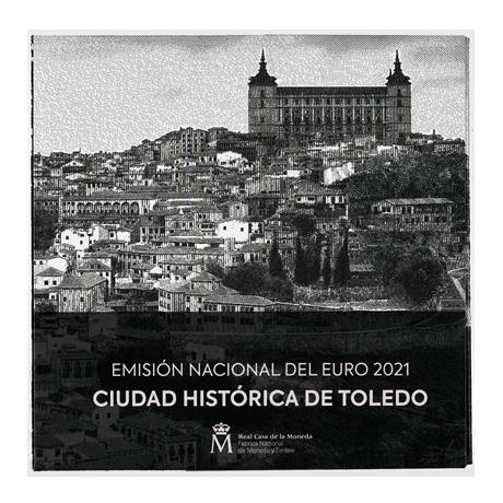 (EUR05.CofBU&FDC.2021.32107173) Coffret BU Espagne 2021 Recto