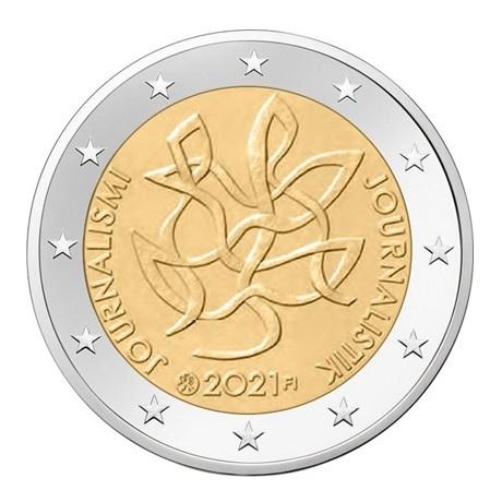(EUR06.200.2021.COM1) 2 euro commémorative Finlande 2021 - Journalisme et communication ouverte