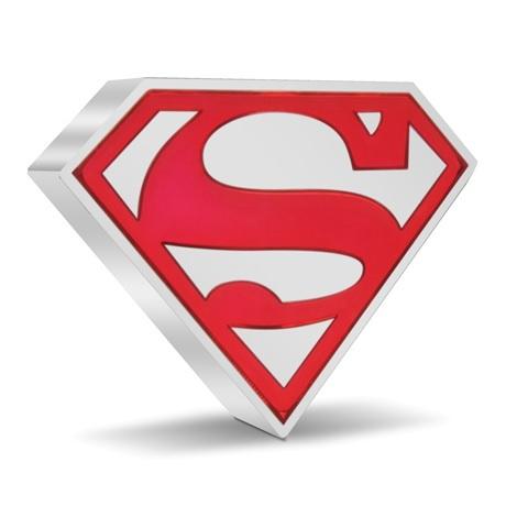 (W160.2.D.2021.30-01067) 2 Dollars Niue 2021 1 once Ag BE - Logo de Superman Revers