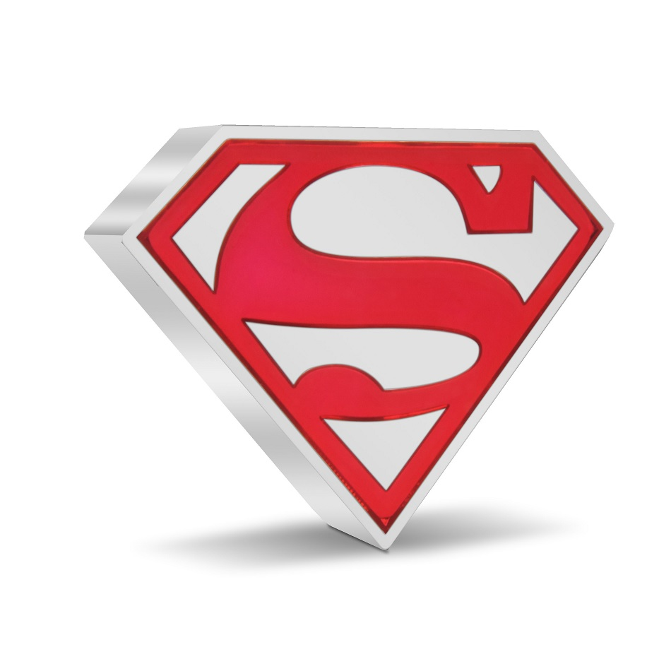 (W160.2.D.2021.30-01067) 2 Dollars Niue 2021 1 ounce Proof silver - Superman Shield Reverse (zoom)