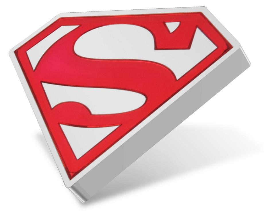 (W160.2.D.2021.30-01067) 2 Dollars Niue 2021 1 oz Proof silver - Superman Shield Reverse (zoom)