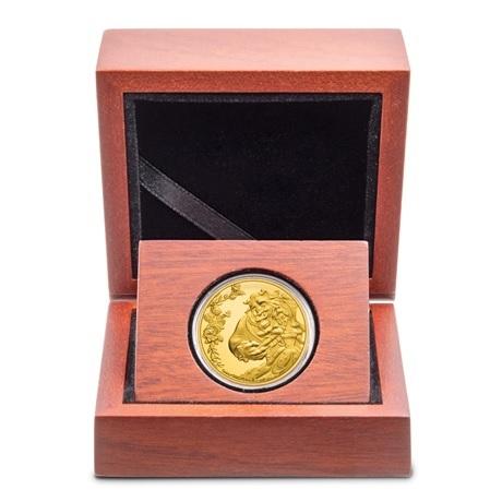 (W160.25.D.2021.30-01030) 25 Dollars Niue 2021 0,25 oz or BE - La Belle et la Bête (écrin)