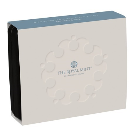 (W185.2.P.2021.BR21SO) 2 Pounds Royaume-Uni 2021 1 once Ag BE - Britannia (packaging)