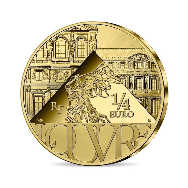 (EUR07.025.2021.10041355240000) Quarter € France 2021 - The Coronation of Napoleon Reverse (zoom)