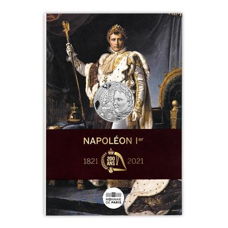 (EUR07.10.E.2021.10041355310005) 10 euro France 2021 Ag - Napoléon Ier Recto
