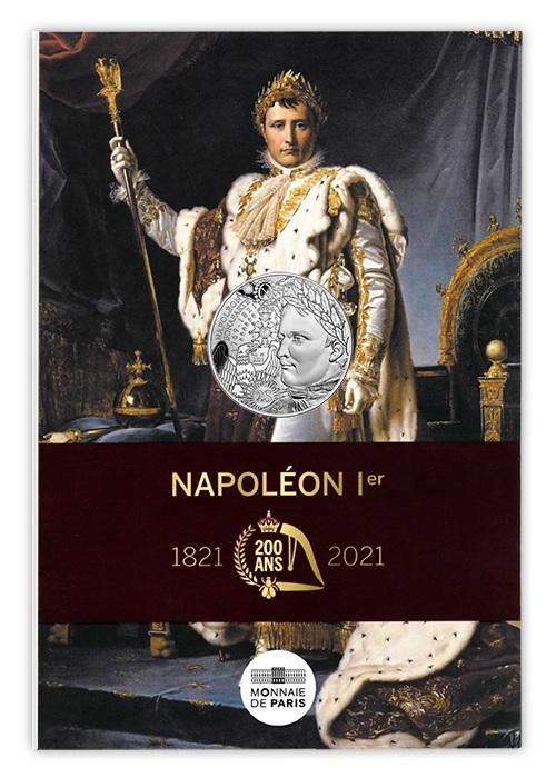 (EUR07.10.E.2021.10041355310005) 10 euro France 2021 Ag - Napoleon I Front (zoom)