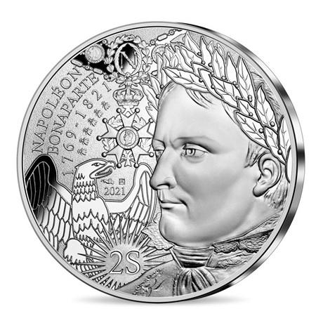 (EUR07.10.E.2021.10041355310005) 10 euro France 2021 argent - Napoléon Ier Avers