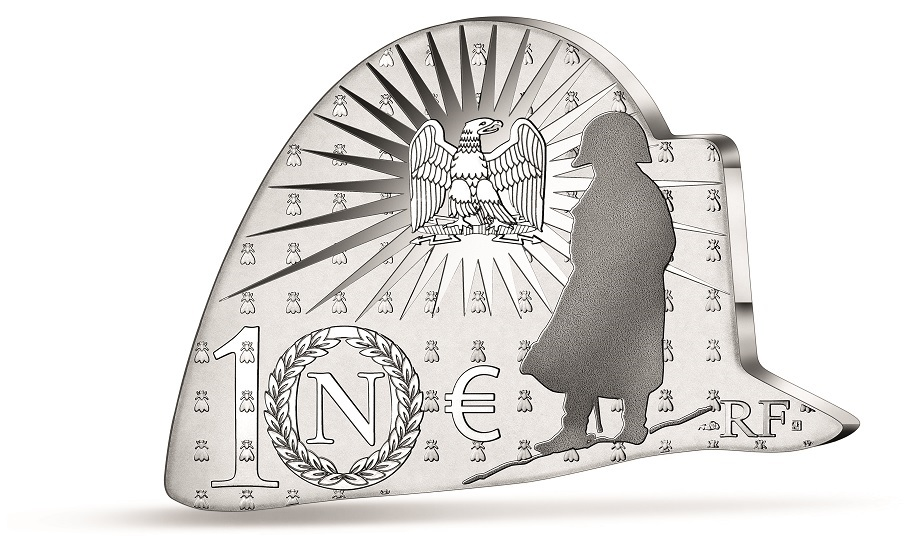 (EUR07.Proof.2021.10041355290000) 10 € France 2021 Proof Ag - Napoléon (two-pointed hat) Reverse (zoom)