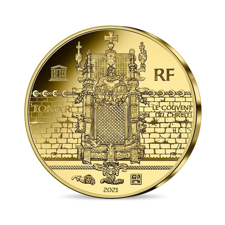(EUR07.Proof.2021.10041355810001) 200 euro France 2021 Proof gold - Magellan Reverse (zoom)