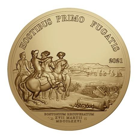 (EUR07.Proof.2021.10041356460000) 200 euro France 2021 or Antique - George Washington Revers