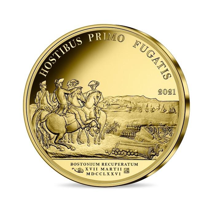 (EUR07.Proof.2021.10041356470000) 50 euro France 2021 Proof gold - Washington Reverse (zoom)