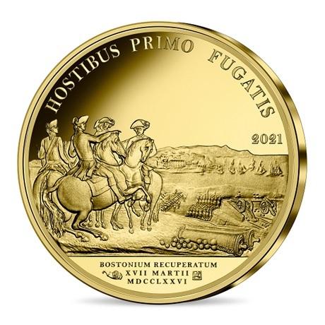 (EUR07.Proof.2021.10041356470000) 50 euro France 2021 or BE - George Washington Revers