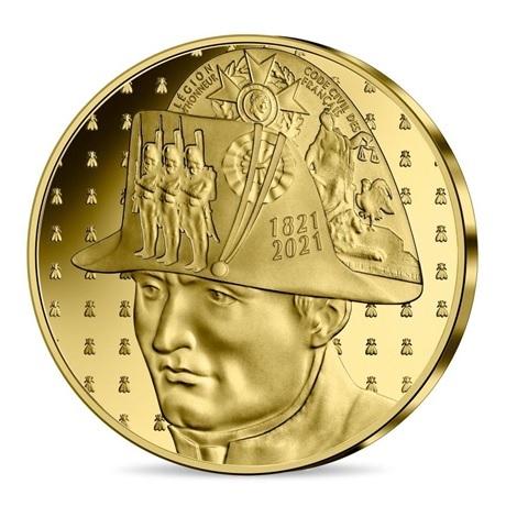 (EUR07.Proof.2021.10041356530000) 50 euro France 2021 or BE - Napoléon Avers