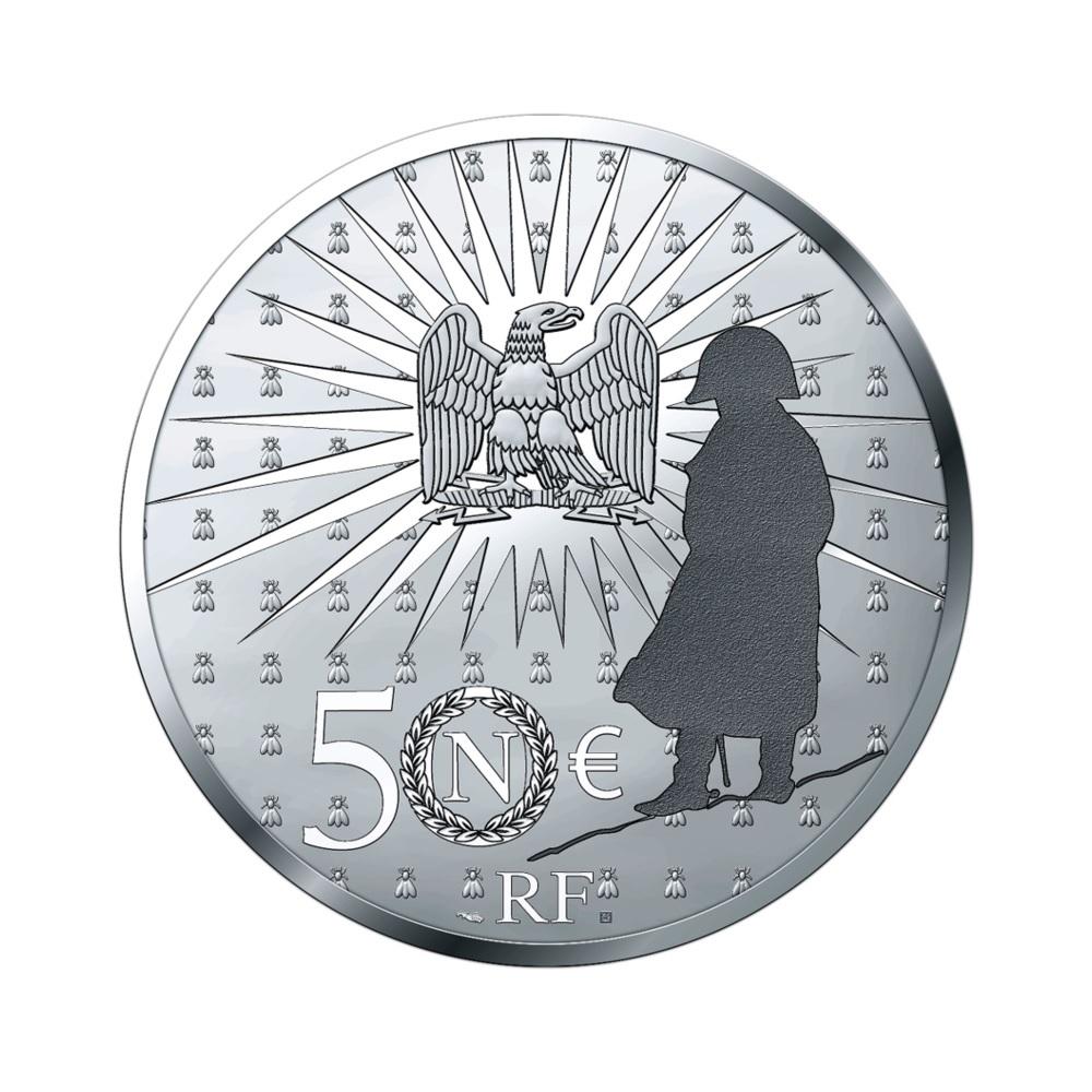 (EUR07.Proof.2021.10041356540000) 50 euro France 2021 Proof silver - Napoléon Reverse (zoom)