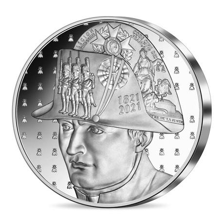 (EUR07.Proof.2021.10041356550000) 20 euro France 2021 Ag BE - Napoléon Avers