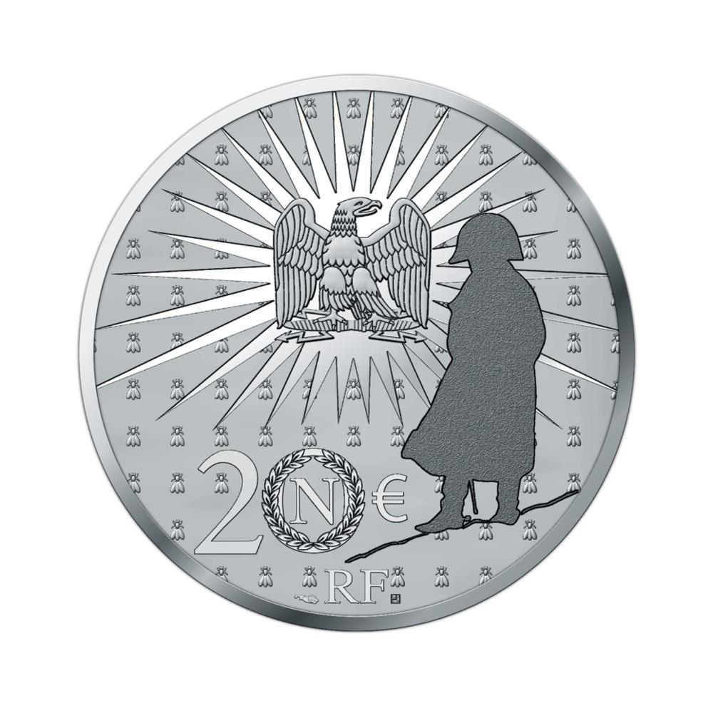 (EUR07.Proof.2021.10041356550000) 20 euro France 2021 Proof silver - Napoléon Reverse (zoom)